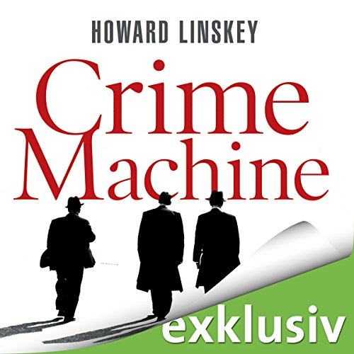 Crime Machine audiobook cover art