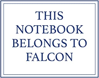 This Notebook Belongs to Falcon