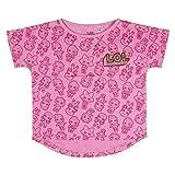 Cerdá LOL Surprise Niña-100% Algodon Camiseta, Rosa, 8 años para Niñas