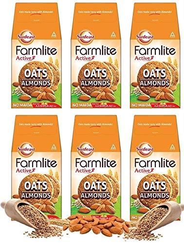 Sunfeast Farmlite Oats and Almonds Bundle Pack, 900 g