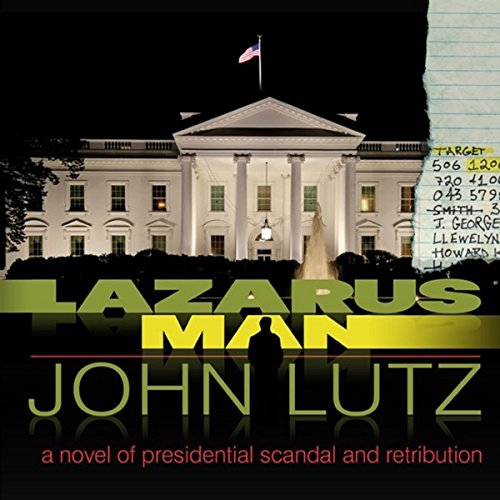 Lazarus Man audiobook cover art