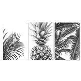 ZYHFBHFBH Leinwand Malerei Nordic Tropical Prints Palme