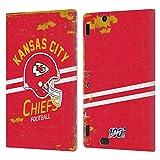 Head Case Designs Licenciado Oficialmente NFL Casco Distressed Look 100th Kansas City Chiefs Logo Ar...
