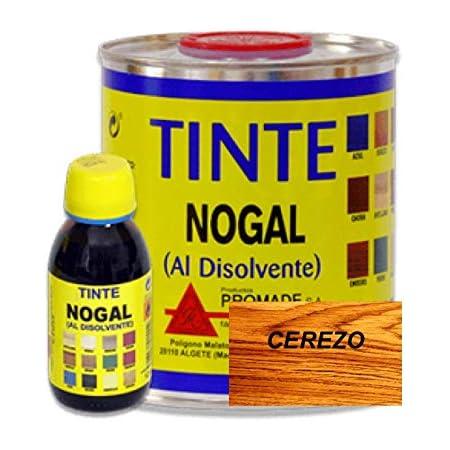 Promade - Tinte al disolvente para teñir la madera. Tonos de madera y colores vivos y modernos (375 ml, Cerezo)