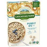 Cascadian Farm Organic Cereal, Purely O's, 8.6 Ounce