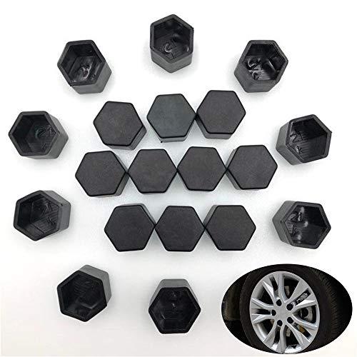 W-Nuanjun-tuerca 20 unids ruedas de coche tuerca cubierta de tornillo caso for Kia Ceed Mohave OPTIMA Carens Borrego CADENZA Picanto SHUMA (tamaño : 17mm)