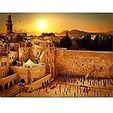 YXLY Rompecabezas De Jerusalén del Muro De Las Lamentaciones De Israel para Adultos, 1000 Piezas, Rompecabezas De Madera Ecológicos Regalo De Cumpleaños