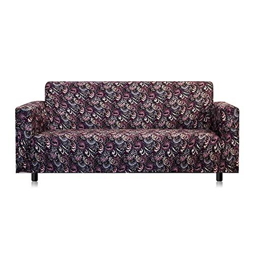 Funda elástica de Spandex para sofá, Asientos de Esquina elásticos, Funda para sofá, Funda Universal para Sala de Estar, Funda en Forma de L, Necesita Comprar 2 Piezas A17 de 4 plazas