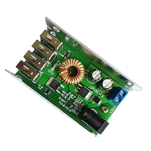 Circuito integrado DealMux, módulo de fuente de alimentación DC-DC-DC 24 V / 12 V a 5 V, 5 A, reemplaza LM2596S