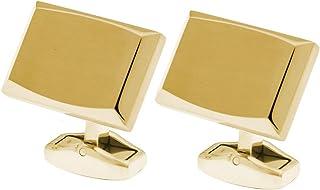كروس ازرار ستنالس ستيل للاكمام القمصان للرجال ، ذهبي ، CR012-C2