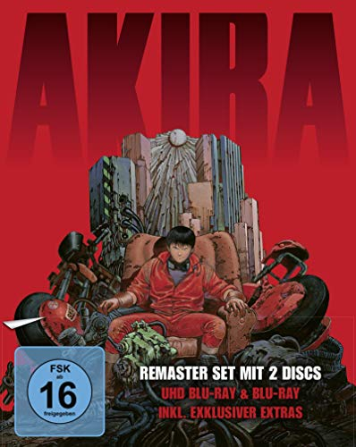 Akira - Limited Edition (4K Ultra HD + Blu-ray)