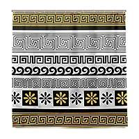 KAPANOU防水 シャワーカーテン 伝統的な装飾品 かわいいシャワーカーテン ユニットバス バスルーム 芸術の装飾 180cmx180cm バスフック付き 取り付け簡単