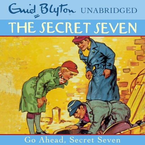 Go Ahead, Secret Seven audiobook cover art