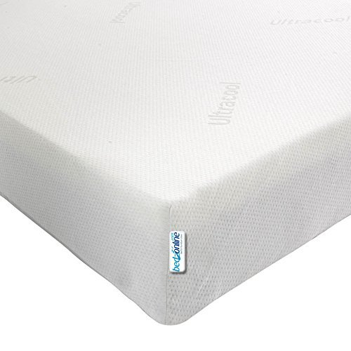 3FT Single Economy Memory Foam Mattress 14CM Removable Zip Cover by bedzonline