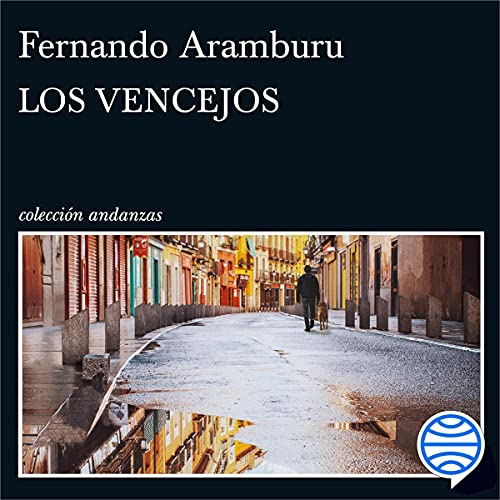 Diseño de la portada del título Los vencejos