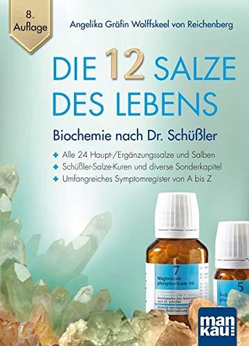 Die 12 Salze des Lebens - Biochemie nach Dr. Schüßler: Alle 24 Haupt-/Ergänzungssalze und Salben - Schüßler-Salze-Kuren und diverse Sonderkapitel - Umfangreiches Symptomregister von A bis Z