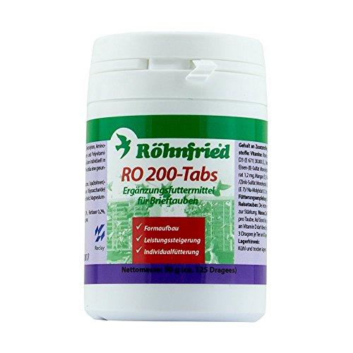 Röhnfried RO 200 Tabs - Konditions Tabletten mit Aminosäuren für Tauben (50 g)