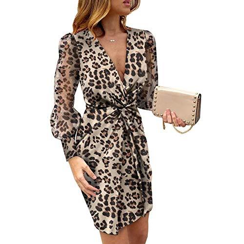Vestido Mango Leopardo