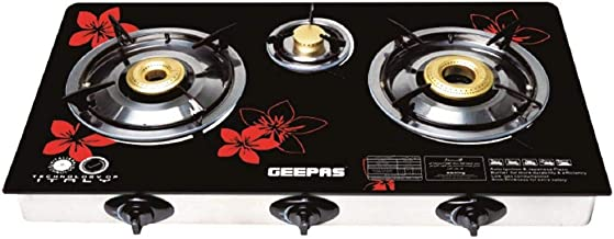 Geepas 3 Burner Gas Cooker (Model GK6759)