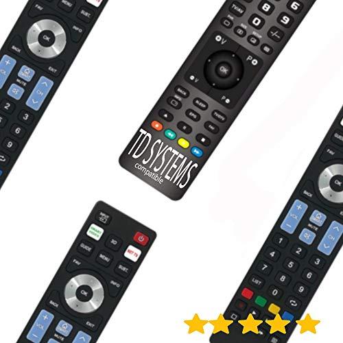 MD MANDOS. Mando A Distancia TELEVISIÓN TDSYSTEMS - Mando TELEVISOR TD Systems Mando A Distancia para TD-System TV -Modelo 1