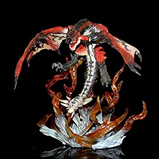 VKISI Genuine Monster Hunter Diga Tig Roaring Rat S Figure Feiyan Fire Dragon Collector's Edition Decoration Kids Toy Gift Thing You Must Have 8 Year Old Girl Gifts Favourite Movie