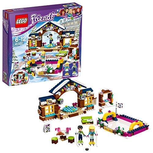 LEGO Friends - La patinoire de la station de ski - 41322 - Jeu de Construction