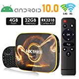 Android 10.0 TV Box 【4GB RAM 32GB ROM】 HK1 Ultra HD 4K Smart