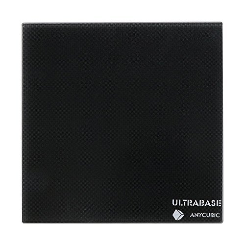 ANYCUBIC Ultrabase 3D Drucker Plattform Platte Durable Build Oberfläche für Prusa i3 MK2 MK3 Heatbed (Ultrbase Glas 220x220mm)