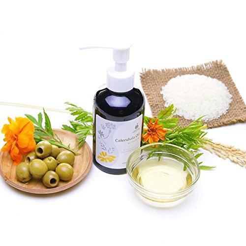 AMOMA(アモーマ)カレンデュラオイル160ml■ベビーオイルや会陰マッサージ・乳頭ケアにカレンドラオイルオーガニック・有機カレンデュラハーブの100%植物性浸出油