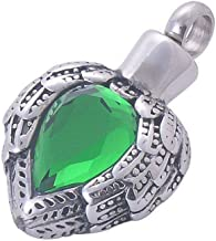 Shape Urn Pendants Memorial Funeral Jewelry Cremation Keepsake Without Chain