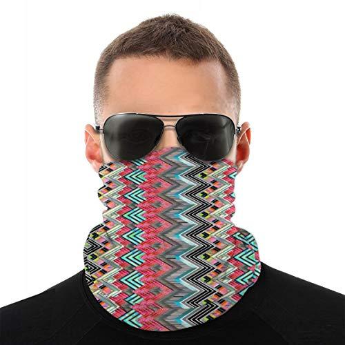 Nonebrand Bandanas Zig Zag Shiver Sports & Casual Cagoule Cagoule Masque de sueur Unisexe