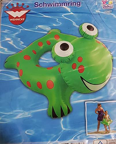 Wehncke Happy People Schwimmring Schwimmhilfe Frosch ca. 65x51 cm grün