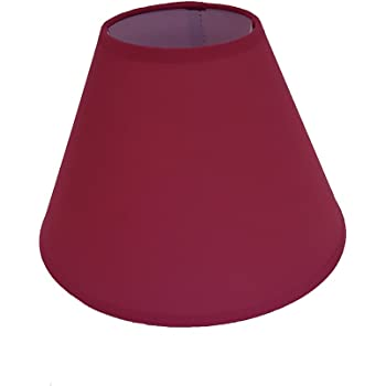 9 Coolie Table Lamp Shade Rose Pink
