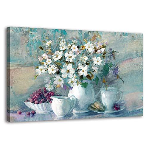 BYXART Canvas Wall Art – Flower Canvas Wall Décor...