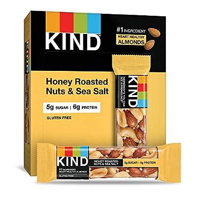 KIND Bars, Honey Roasted Nuts & Sea Salt