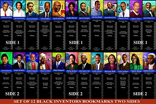Black Inventors Bookmark Set (BNVKSET)