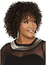 Hyperia Afro Kinky Wig Cheap Synthetic Short Kinky Curly Wigs For Brown Women African American Female Wig Heat Resistant Fiber Wig