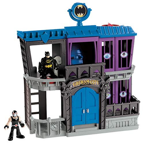 Fisher-Price Imaginext DC Super Friends, Gotham City Jail, Standard Packaging