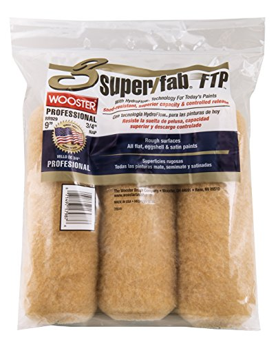 The Wooster Brush Company RR929-9 Super Fab FTP Roller Cover