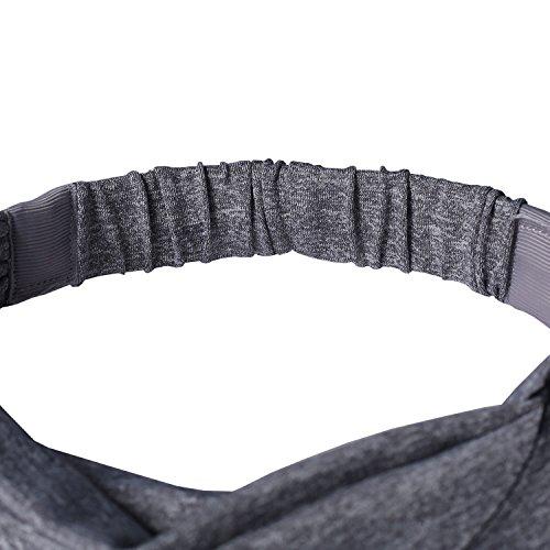Tagvo Sport Stirnband, 3 Pack Elastisches Haarband Antirutsch Feuchtigkeitstransport Breites Stirnband Athletisches Schweißband für Männer und Frauen – Fit für Runing, Yoga, Radfahren, Basketball - 4