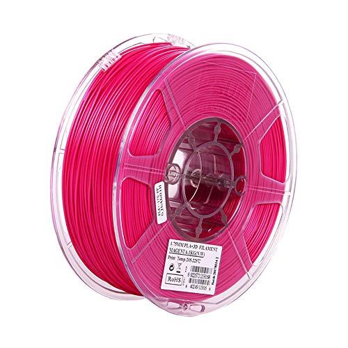 PLA Plus-Filament 1,75 mm, 3D-Druckerfilament 1kg (2.2lb), höhere Zähigkeit, Maßgenauigkeit +/- 0,03 mm-Rosa