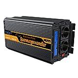 EDECOA Convertisseur Pur Sinus 12v 220v onduleur 1000w ecran LCD transformateur de...