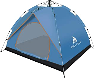 Phiroop Camping Tent Hydraulic Pop Up Automatic Instant...