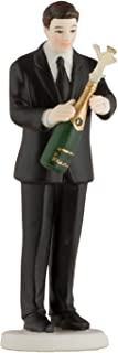 Weddingstar Victorious Groom with Champagne Bottle Figurine