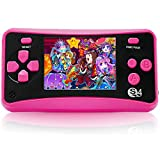 HigoKids Handheld Game Console for Kids Portable Retro Video Game Player Built-in 182 Classic Games 2.5 inches LCD...