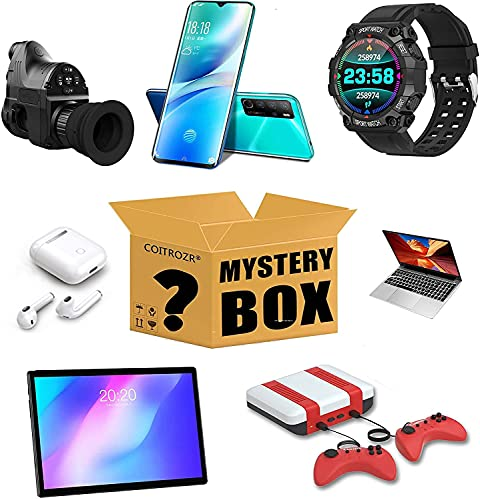 Mystery Electronic Box, Elektronik überraschungsbox Ràñdôm Elektronisch Product Von Explosion Box für Drohnen, Smartwatches, Headsets, PC, Etc