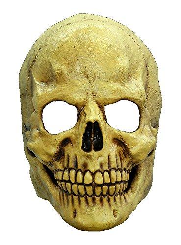 Halloween Karneval Party Kostüm Totenkopf Maske des Grauens aus Latex für Erwachsene