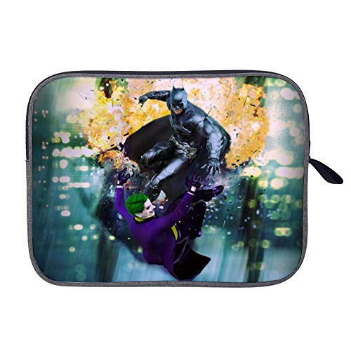 JOK-er Vs Ba-tman Laptop Sleeve Case Bag Cover Tablet Briefcase Carrying Bag for 14 Inch MacBook Pro/MacBook Air/Notebook/Ultrabook/Chromebooks