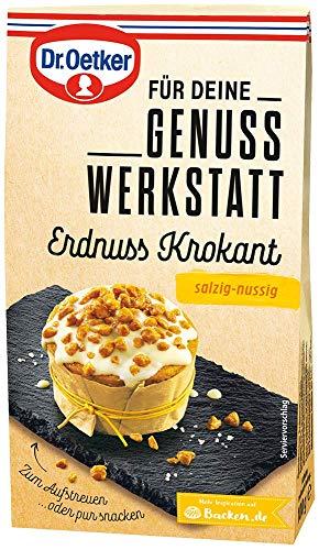 Dr. Oetker Genuss Werkstatt Erdnuss Krokant, salzig-nussige, 100 g