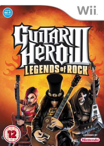 Guitar Hero III: Legends of Rock - Game Only (Wii) [Importación Inglesa]
